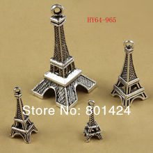 Buy 64-965 different size antiquated Silver Tone Eiffel Tower Paris Charm Pendants vintage beads charm pendant for $5.00 in AliExpress store