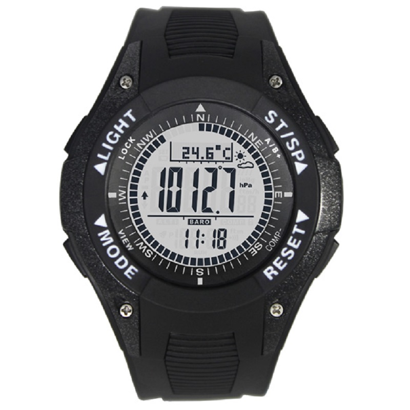 SUNROAD Multifunctional Outdoor Sports Compass Watches Hiking Men Watch Digital LED Electronic Watch Man Sports Watches <br>