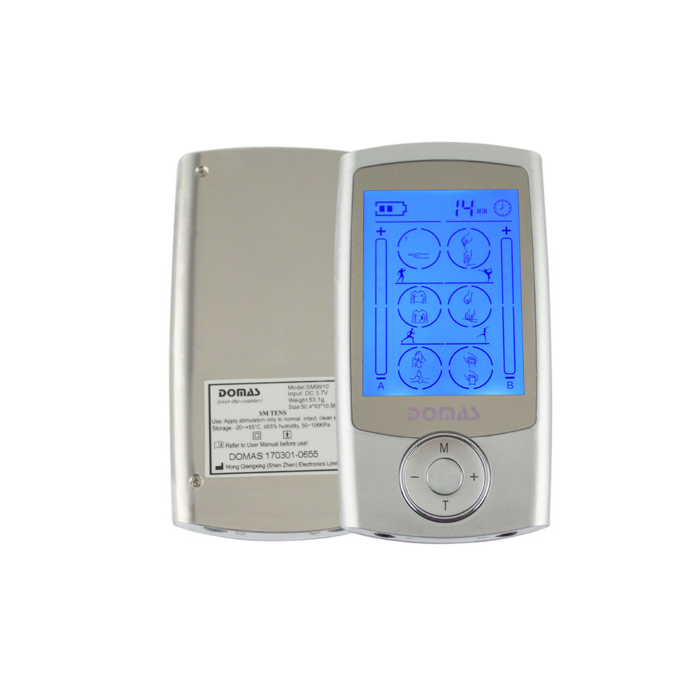 Massager Health Care Pulseacupressure Tens Unit Dual-channel FDA Low-frequency Electro Pulse Muscle Stimulator<br>