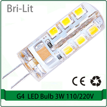 g4 bulb led Light Bulb 3W 5 Watt 12V G4 Base JC Type AC12V DC12V 110V 220V
