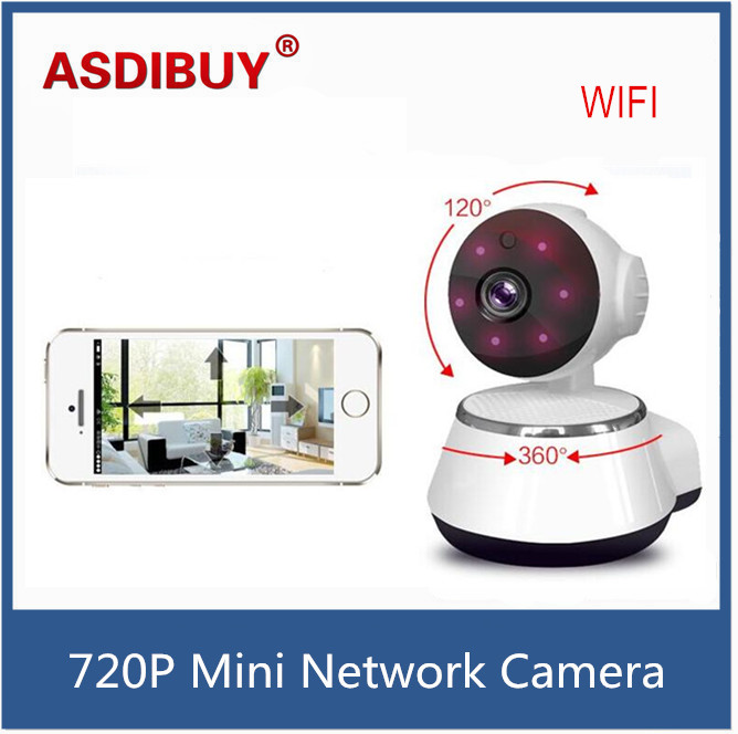 HD Home security IP Camera Wireless Mini IP Camera Surveillance Camera Wifi 720P Night Vision Baby Monitor audio recording<br><br>Aliexpress