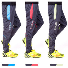 Men Soccer Pants Tracksuits Football Training Running Jogging Pocket with Zippers survetement football 2017