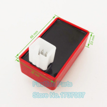 Red 5 Pin AC CDI Box For 50cc 70cc 90cc 110cc 125cc Scooter Moped ATV Quad GY6 Racing Adjustable