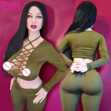 Buy 152cm Sex Dolls Men Big Ass Big Breast Lifelike Realistic Female Vagina Full Silicone Silicon Toys Masturbator Japanese Tpe