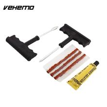 Vehemo OEM Car Truck Steel Tubeless Radial Tire Repair Kit Puncture Plug Practical(China)