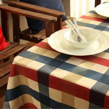 New Arrival Table Cloth Edinburgh plaid High Quality Cotton Universal Tablecloth Decorative Elegant Table Cloth Table Cover Hot