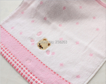 Hot sell! Child towel 100% cotton baby towel  wholesale  Infant cotton scarf romantic Bear