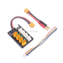 Buy NEW 4CH 3s 4s Lipo Battery Parallel Charging Board XT60 Banana Plug ISDT D2 Q6 SC-608 SC-620 Imax B6 Charger RC Models Parts for $18.55 in AliExpress store