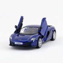 RMZ City McLaren 650S 1:32 Toy Vehicles Alloy Pull Back Mini Car Replica Authorized By The Original Factory Model Toys Kids Gift