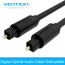Vention Toslink Digital Cable Optical Fiber Audio Cable Adapter 1m 2m 3m 5m for TV Blueray PS3 XBOX DVD CD Mini Disc AV