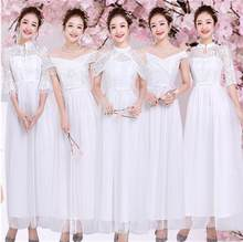 Plus Size White Bridesmaid Dresses Vintage A Line Bridesmaid Dress Size 2  to Size 16 SB1967 a7fee75f01a5