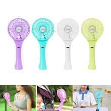 Portable Hand Fan Battery Operated USB Power Handheld Mini Cool Fans with Clip