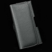 New Smooth/Lichee Pattern Leather Pouch Belt Clip Bag for Philips Xenium E560 E570 Phone Cases Cell Phone Accessory