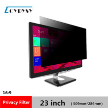 "23 inch Privacy Filter LCD Screen Protective film for 16:9 Widescreen Computer 20 1/16 "" wide x 11 1/4 "" high (509mm*286mm)(China)"