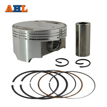AHL Bore Size 74mm Motorcycle +100 Piston Set with Pin Rings Clip Kit For Suzuki AN250 1998-2006 / DR250 1990-1995(China)