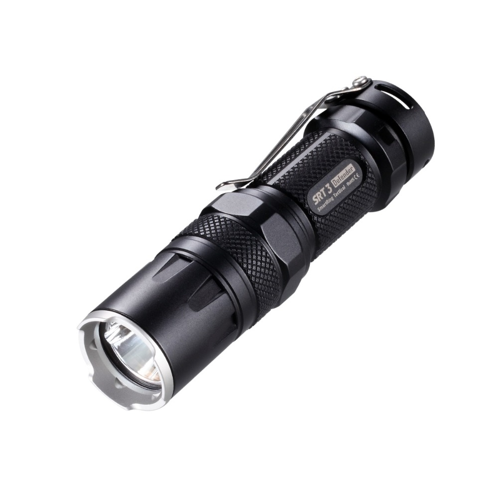 Nitecore SRT3 550Lm CREE XM-L2 T6 tactical LED Flashlight Black Aluminum Alloy Waterproof Torchin hiking bicycle Free shipping<br><br>Aliexpress