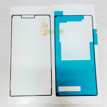 YOU KIT 2PCS/Set Original LCD + Battery Back Cover Waterproof Adhesive Sticker Glue Tape For Sony Xperia Z3 SO-01G D6603 D6633