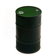 1Pcs Army Green CNC Aluminum  Oil Drum Tank for Tamiya RC Tractor Container Truck Free Shipping