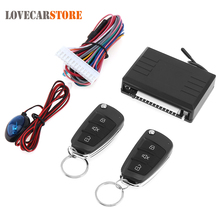 12V Auto Car Alarm System Vehicle Security Keyless Entry System with Remote Control and Door Lock Automatically for KIA(China)