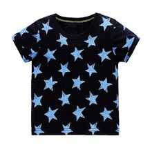 Children T shirt for Boys Clothing 2017 Brand Baby Boys Summer Tops Tee Shirt 100% Cotton T-shirt Kids Clothes Boy Tshirt 18M-6Y