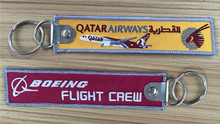 Qatar Airlines BOEING Flight crew tags