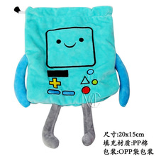 Anime/Cartoon Adventure Time BMO Jewelry/Cell Phone Drawstring Plush Pouch/Wedding Party Christmas Gift Bag (DRAPH_8)