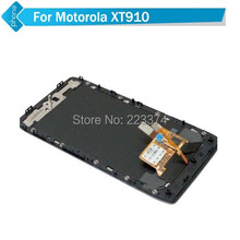 For Motorola Droid RAZR XT910 LCD With Touch Screen Digitizer Assembly with Frame +Tools