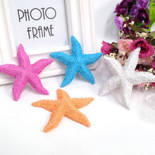 HENGHOME Best Selling Wholesale Random color 1Pcs Resin Starfish Mini Crafts Decorations For Micro Landscape Home Decor(China)