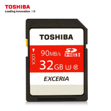 TOSHIBA Memory Card N302 32GB 64G 128G U3 SDHC/SDXC Max UP Read Speed 90MB/S 16GB U1 SD Card SDHC 32GB Class10 for Camera(China)