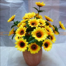 20 seeds / pack, Garden Plants Sunflower Seeds, Bonsai Helianthus Annuus Flower for Home & Garden Edible Sunflower Planting