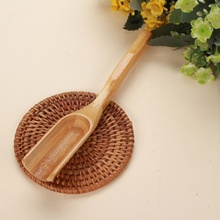 Wooden Bamboo Coffee Matcha Tea Spoon Scoop Kitchen Utensil Set Cooking Tools Wood Spoon Strong Gadget Cutlery