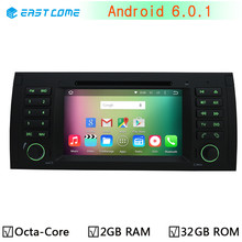 Octa Core Android 6.0.1 Car DVD Stereo Player for bmw 5 Series X5 E39 E53 E38 M5 1996-2007 Range Rover Radio BT GPS Navigation(China)