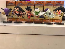 Anime Dragon Ball Z The Historical Characters WCF DragonBall  PVC Action Figure Resin Collection Model Toy Doll Gifts