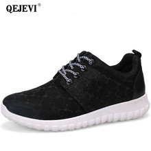 Buy 2018 Women Shoes Walking Run Height Increasing 4CM Woman Sport Sneakers Walk Outdoor Glitter Shoes Leisure Breathable Sports for $18.55 in AliExpress store