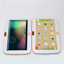 Glavey 7 inch RK2928 KIDS and parents Dual Interface Kids Tablet 1024*600 Android 4.2 512MB/4GB WIFI white+orange color