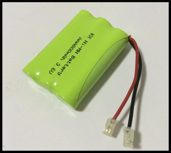 1 PCS/lot KX Original New Ni-MH AAA 3.6V 800mAh Ni MH Rechargeable Battery Pack With Plugs For Cordless Phone Free Shipping(China (Mainland))
