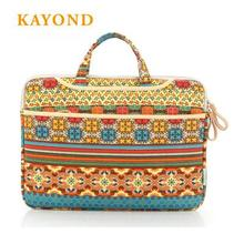 "Kayond Brand Retro Laptop Bag Super Thin Light Laptop Sleeve Case Waterproof Shockproof Cover For Macbook Laptops 13 14 15.6""(China)"