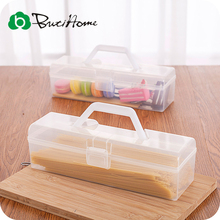 Noodle Box Chopsticks Tableware Tool Kitchen Portable Containing Food Fresh Plastic Box Storage Finishing Accessories ButiHome(China)