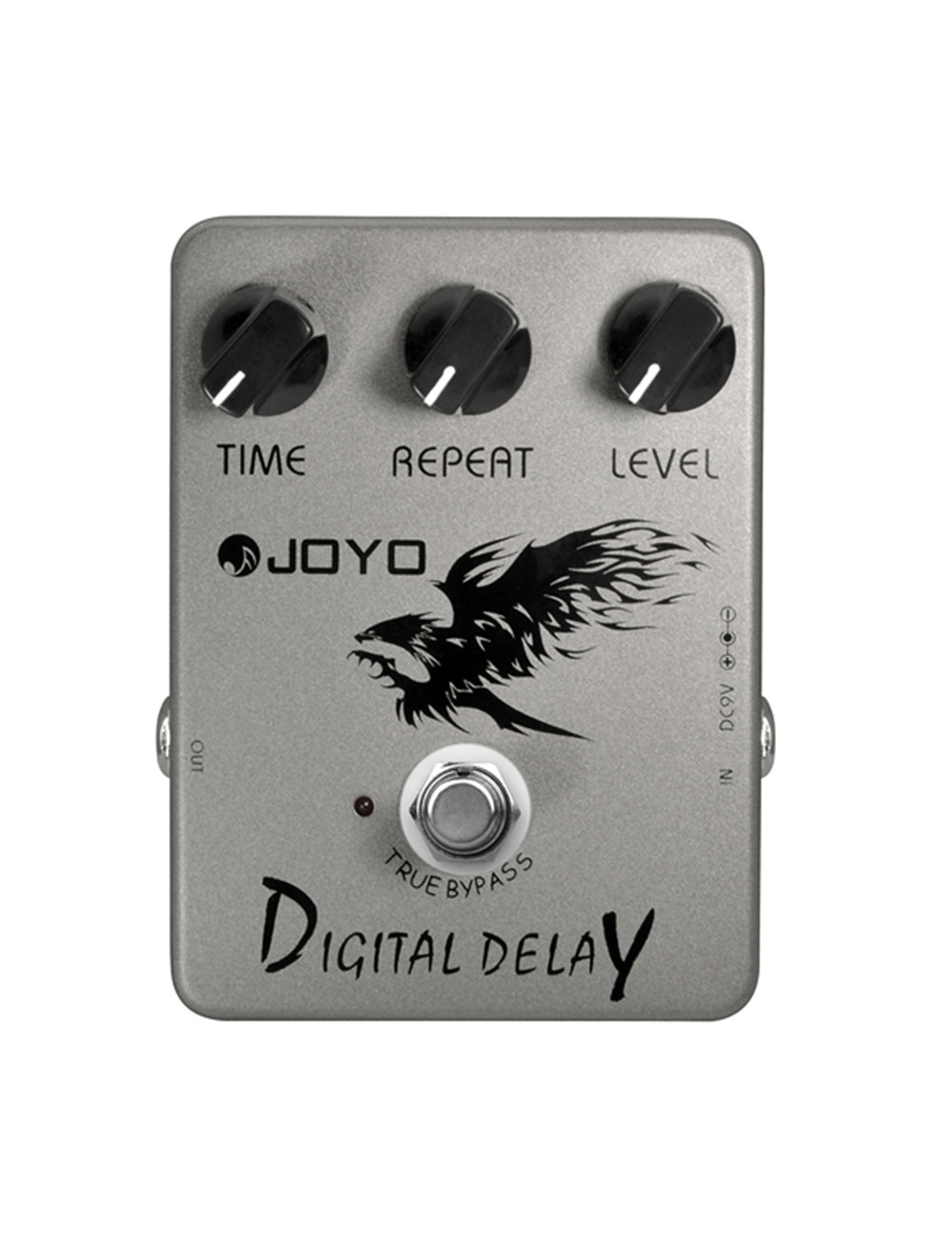 Joyo JF-08 Digital Delay Guitar Effect Pedal Delay Stompbox 25ms~600ms Delay Time Embellish Warm And Glossy True Bypass<br>