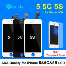 100% A+++ Quality LCD Assembly For iPhone 5 5S 5C LCD Display with Touch Screen Digitizer for iPhone 5 LCD Screen