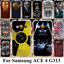 Taoyunxi Silicone Plastic Phone Cover Case For Samsung Galaxy ACE 4 NXT G313 G318H Trend 2 Lite G313H SM-G313H G318F Bag Shell(China)