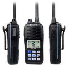 100% NEW Professional VHF Marine Handheld Transceiver RS-36M WaterProof IP-X7 80 Channels Two Way Radio