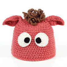 TUNICA 2017 Cute baby hat cartoon image knitted wool hat children hat fashion animal cotton bones baby brand baby winter hat(China)