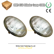 2pcs Concert DTS Blinder 2 Light 2000 Set 2x 650W DWE PAR 36 Bulb Lamp Lampara Replacement(China)