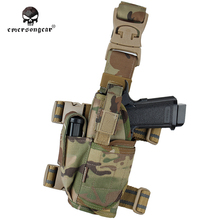 gun pistol holder Right Left hand Holster EMERSON Tornado Universal Tactical Thigh NATO Style Drop Leg EM6204 Multicam(China)