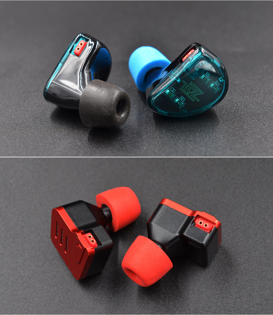 KZ_New_Upgrade_Original_3Pair_(6pcs)_Noise_Isolating_Comfortble_Memory_Foam_Ear_Tips_Ear_Pads_Earbuds_For_In_Earphone_Headphones_Red_Blue (11)