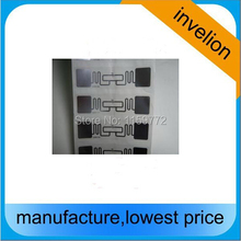 rfid alien 9662 label antenna h3 chip uhf 840-960mhz wet inlay gen2 long range / adhesive rfid uhf tag sports race timing