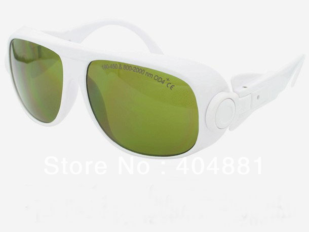 laser safety eyewear 190-450nm &amp; 800-2000nm O.D 4 + CE High VLT%<br>