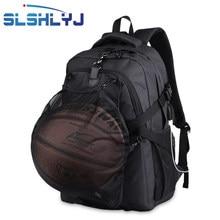 SLSHLYJ deporte mochila hombres baloncesto mochila bolsa de escuela para  adolescente niños balón de fútbol bolsa 605d5b888df67