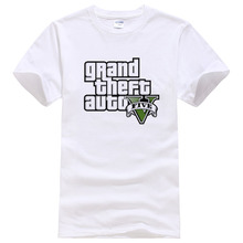 Buy Gta-5 T Shirt Men GTA 5 T-shirt Men Summer Cotton Brand TShirts Homme Fashion Tops Camisa GTA Tees #043 for $5.52 in AliExpress store